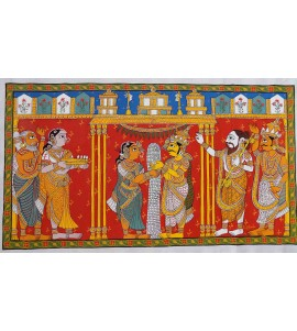 Telangana: Cherial Scroll Painting